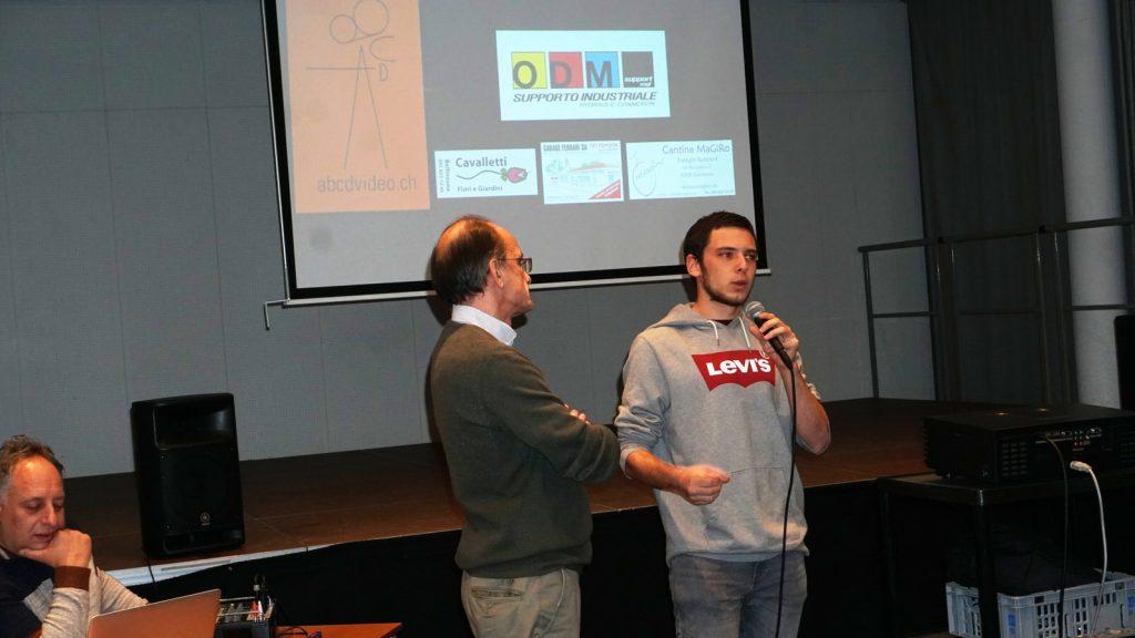 Giovanni Beltraminelli con Nicola lo Russo