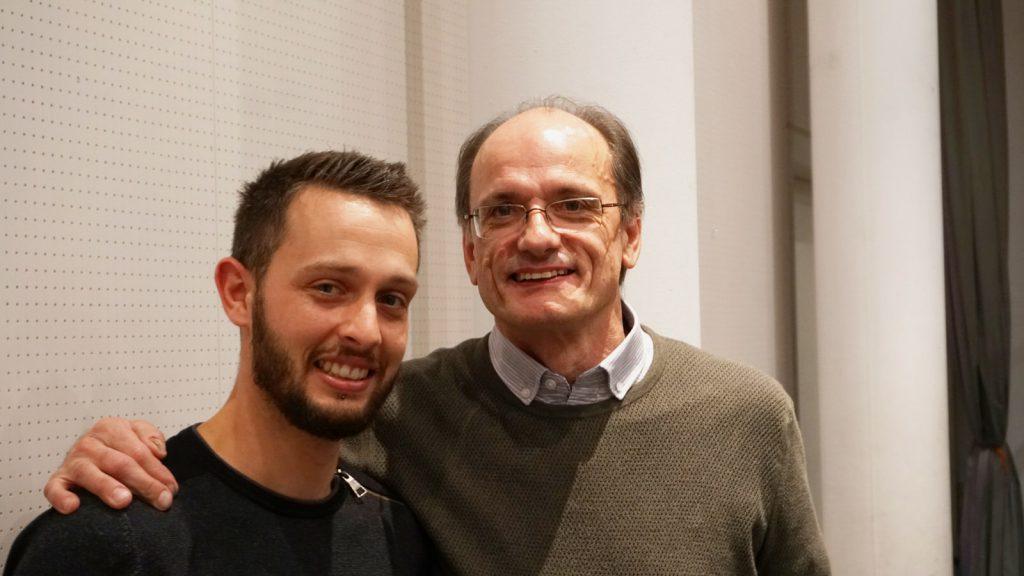 Giovanni Beltraminelli con Max Negrini